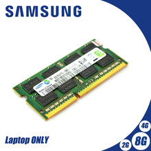 Samsung NB 2GB 4GB 8GB PC3 DDR3 1066Mhz 1333Mhz 1600 Mhz pamięć do laptopa pamięć RAM 2g 4g 8g SO-DIMM 10600S 8500S 1333 1600 Mhz