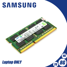 Samsung NB 2GB 4GB 8GB PC3 DDR3 1066Mhz 1333Mhz 1600 Mhz ordinateur portable mémoire RAM 2g 4g 8g SO-DIMM 10600S 8500S 1333 1600 Mhz