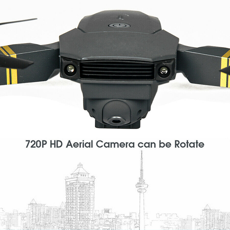 Foldable Drone WIFI Wide-Angle Camera FPV 1080P HD Camera 3 Batteries Portable Selfie RC Quadcopter Four-Axis Aircraft