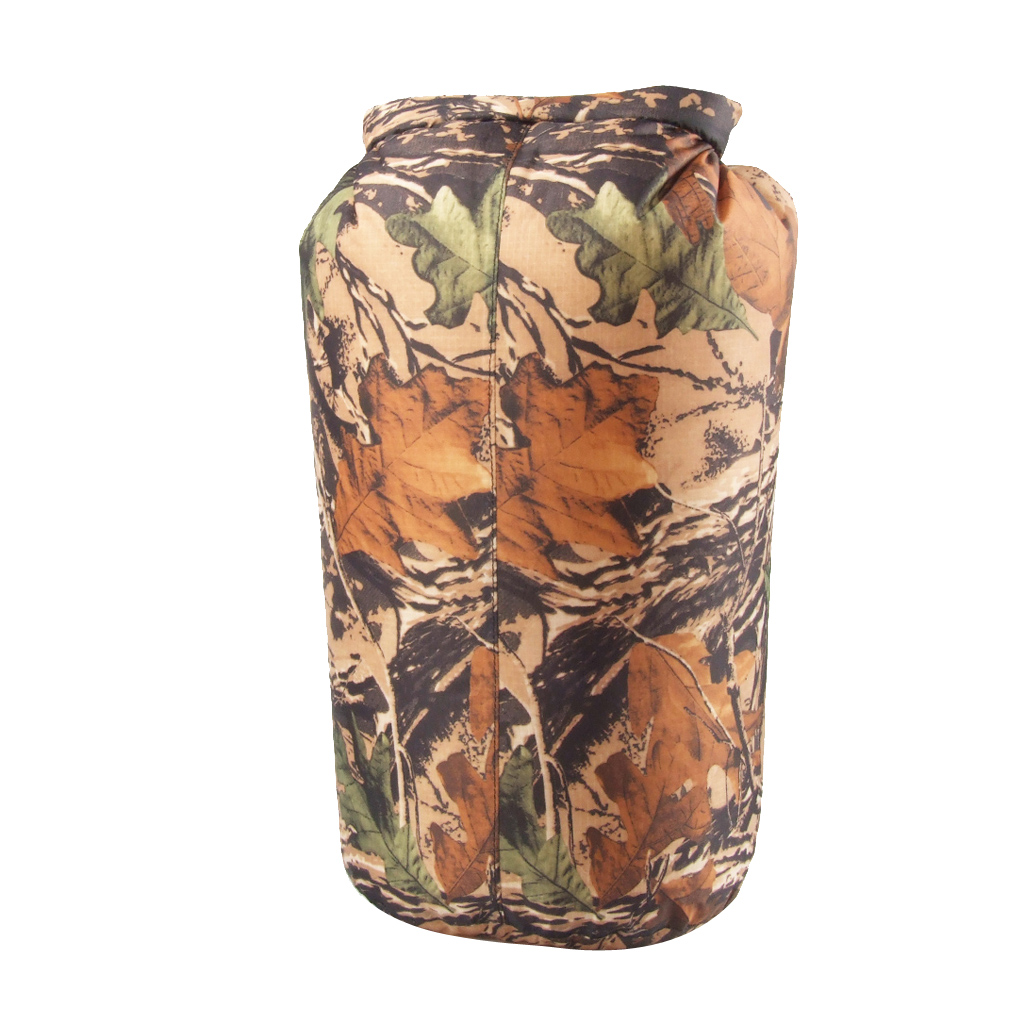Polyester Taffeta Waterproof Bag Outdoor Dry Pouch 15L Camouflage
