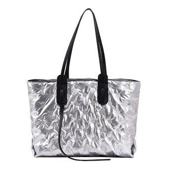Fashion Women's Cotton bag Ladies Women Shoulder Bag Big Large capacity Shoulder Tote Handbags 2021 New Winter Tote Bags Handbag
