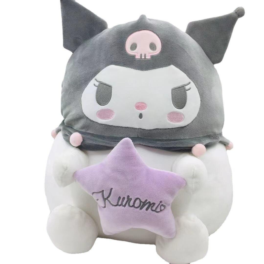 36 Cm My Melody Cinnamoroll babyCinnamoroll Sanrio plush pillow doll lovely baby dog blanket anime series stuffed doll girl gift