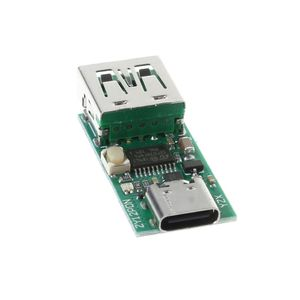 Image 4 - كاشف شرك الشحن السريع من النوع C يعمل بمنفذ USB كاشف استطلاعات زناد PD 5A 9 فولت/12 فولت/15 فولت/20 فولت إختبار أتوماتيكي 95AD