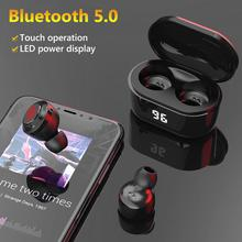 A6 TWS Mini Bluetooth V5.0 Earphones Wireless Headphones Wit