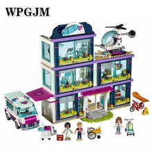 Friends Girl Series 644pcs Building Blocks Kids Toys  House Designer Toy Gifts Compatible Legoinglys 41135 01038 friends legoinglys sunshine catamaran building blocks compatible legoing friends toys classic girls kids figures toys