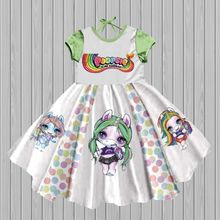 Adorable rainbow wholesale boutique party baby girl