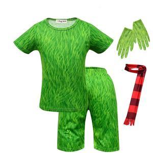 Image 4 - Moana Maui Costume Boys Pyjama Sets Nightwear Sleepwear Long Sleeve 3 10 Years Teen Kid Child t Skirt Clothes Bathrobe Cartoon