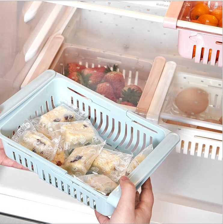 Kühlschrank kunststoff lagerung korb essen trinken schublade lagerung box küche schutt finishing box lagerung korb