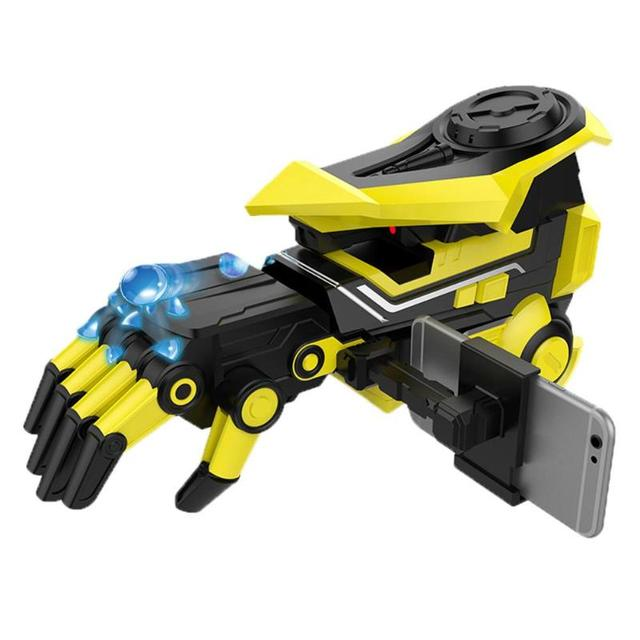 Yellow Plastic Water Bomb Gun AR Smart Electric Bullet Toy with Changed Arm