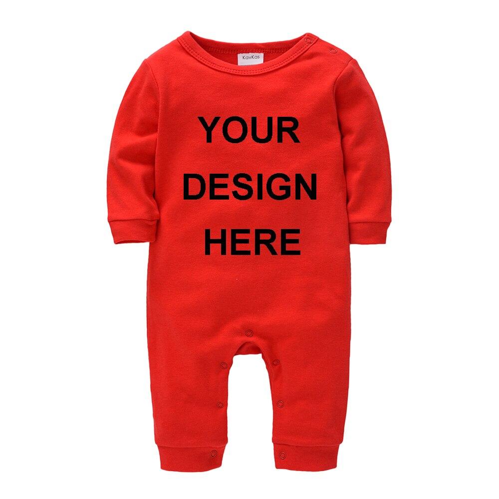 Blue Custom Baby Bodysuit One-Piece