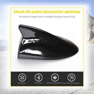 Image 4 - MOPAI Car Stickers for Challenger Car Shark Antenna Decoration Auto Radio Signal Aerials Cover Accessories for Dodge Challenger