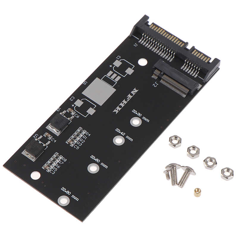 Ngff ( M2 ) ssd do 2.5 cala adapter sata m.2 ngff ssd do sata3 konwerter kart