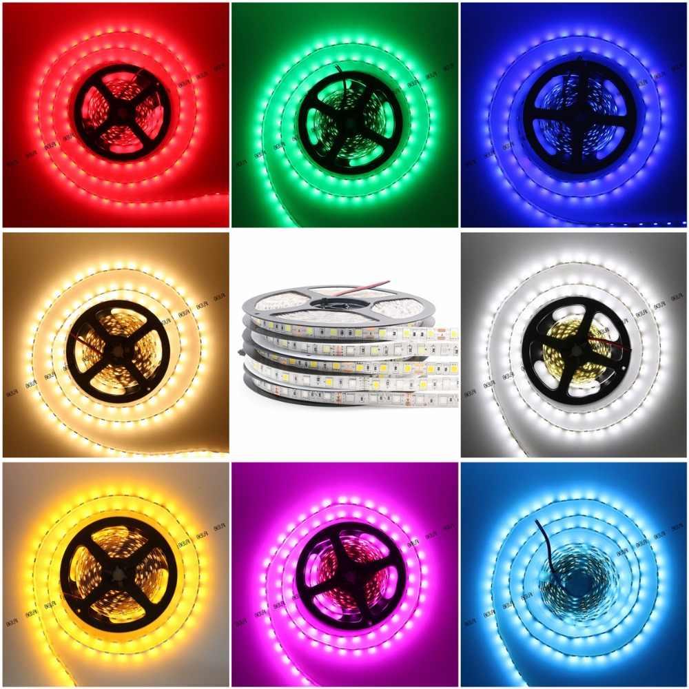BEILAI SMD 5050 listwy rgb led wodoodporna 5M 300 led DC 12V RGBW RGBWW taśma led elastyczna taśma neonowa Luz monochromatyczny