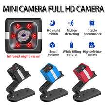 Mini câmera ip 12mp 1080p hd visão noturna detecção de movimento cam para o bebê pet monitor ao ar livre escritório vigilância segurança em casa
