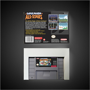 Image 2 - Super Marioed All Stars   RPG Game Card Battery Save US Version Retail Box
