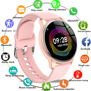 LIGE Hot smart watch men women fashion ladies heart rate monitor Fitness bracelet Sport Watch Smartwatch reloj smartwatch mujer