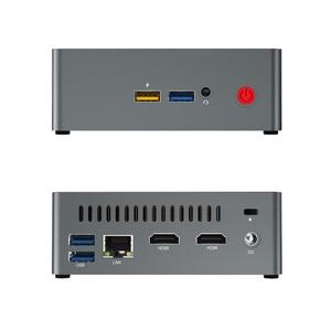 Image 5 - beelink  J34 Apollo Lake Celeron J3455 genuine windows 10 mini pc support HDD 8GB 256GB windows10 64bit set top box Media Player