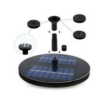 Плавающий Солнечный насос водяной насос солнечный фонтан для садового пруда погружной полив бассейн автоматический фонтан панель комплект