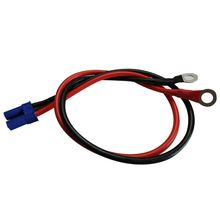 Cable Plug-Connector EC5 Ec5-To-O-Ring Terminal Rc-Esc-Charger 10AWG for Side-Power-50cm/1.6ft