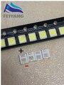 200 шт. для OSRAM LED подсветка 1,5 Вт 3 в 1210 3528 2835 131LM холодный белый ЖК Подсветка для ТВ приложения CUW JHSP