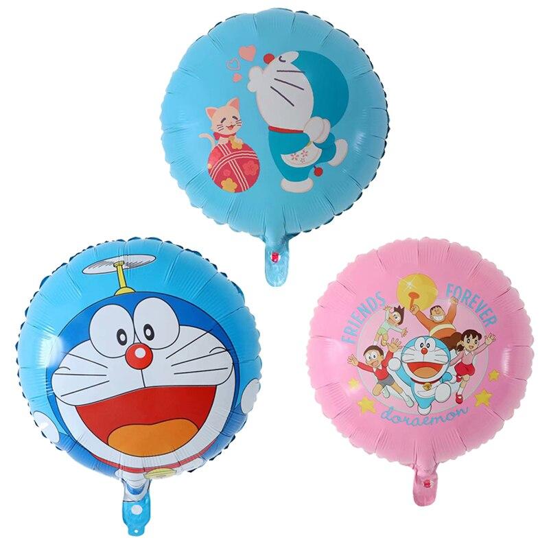 10PCS Cartoon party decoration air helium aluminum Foil balloon Kids gift