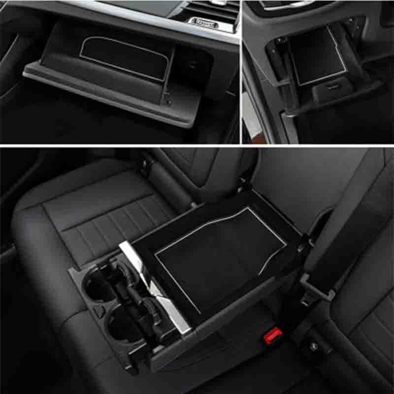 Автомобильный Стайлинг дверной паз коврик слот для ворот чашка