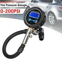 Tospra alta qualidade digital carro caminhão veículo inflator pressão dos pneus de ar medidor de discagem lcd teste medidor de pressão dos pneus do carro medidor|Sistemas de monitoramento de pressão dos pneus| |  -