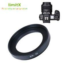 EW52 Lens Hood Canon EOS R RP R5 R6 RF 35mm f/1.8 makro STM lens geçer Canon EW 52 kamera aksesuarları