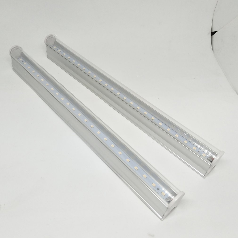 2 Pcs Led Grow Light T5 Tube LED Phyto Lamps Full Spectrum LED Grow Light Indoor Lamp For Plant 0.3m