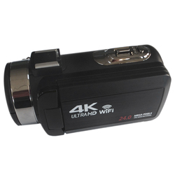 4K Video Camcorder 24MP 1080P HD 16X Zoom Anti-Shake DV Camera with Remote Control for Travel/Gift