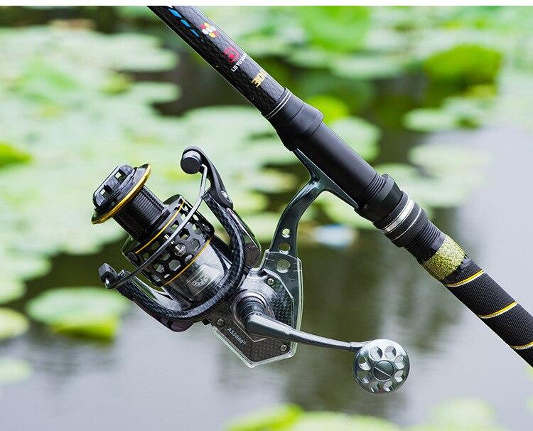 corpo molinete de fiação custo-benefício equipamento de pesca