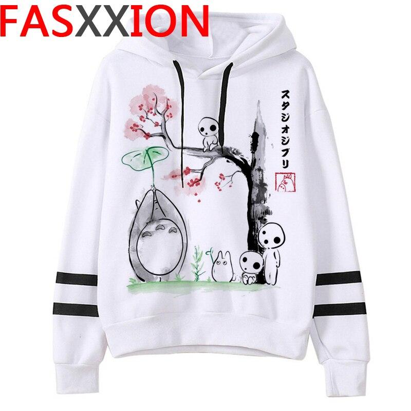 Totoro Studio Ghibli hoodies women streetwear grunge femme hoody sweatshirts hip hop streetwear 7
