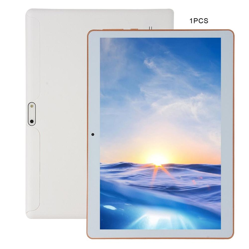 KT107 Plastic Tablet 10.1 Inch HD Large Screen Android 4.10 Version Fashion Portable Tablet 1G+16G White Tablet