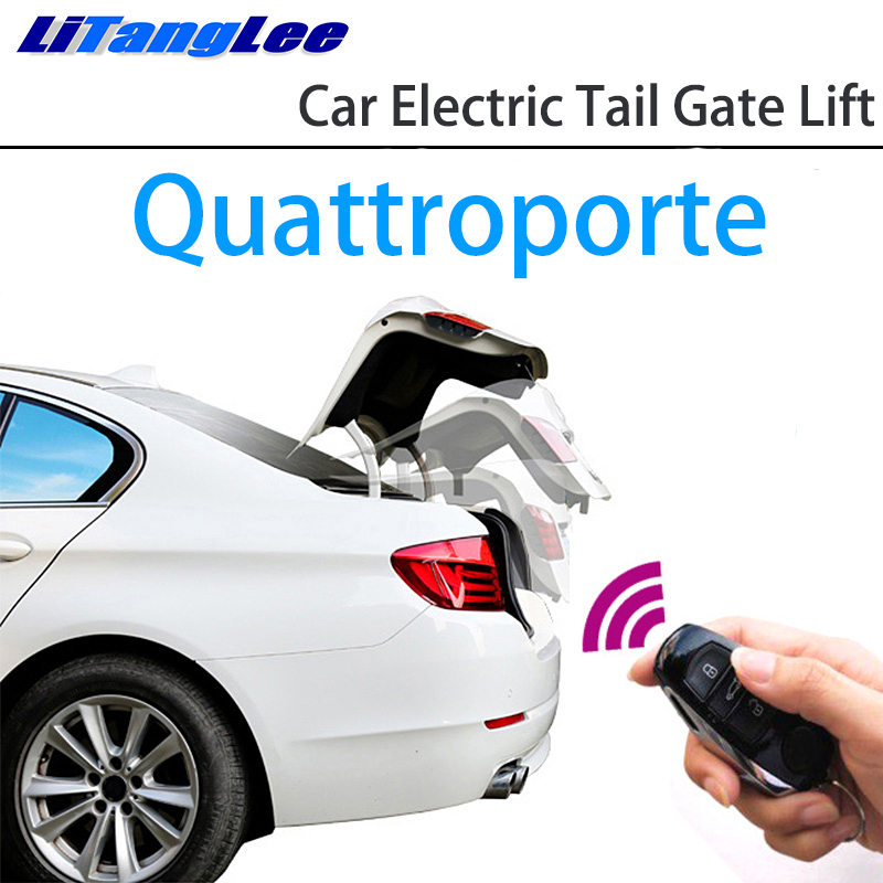 LiTangLee Car Electric Tail Gate Lift Trunk Rear Door Assist System For Maserati Quattroporte VI M156 2013~2019 Remote Control