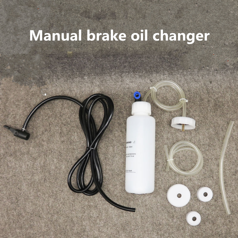 Car Brake Clutch Bleeder Kit Oil Pump Change Brake Liquid Filling Equipment Brake Oil Fluid Replacement   Auto Vacuum Evacuation
