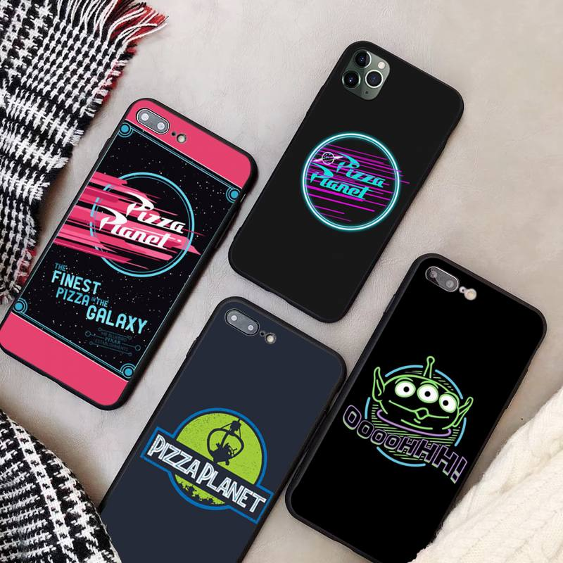 LewisY <font><b>Toy</b></font> <font><b>Story</b></font> Pizza Planet Soft Phone Case <font><b>Capa</b></font> for <font><b>iphone</b></font> 11 PRO MAX X XS XR 4S 5S 6S 7 8 PLUS SE 2020 image