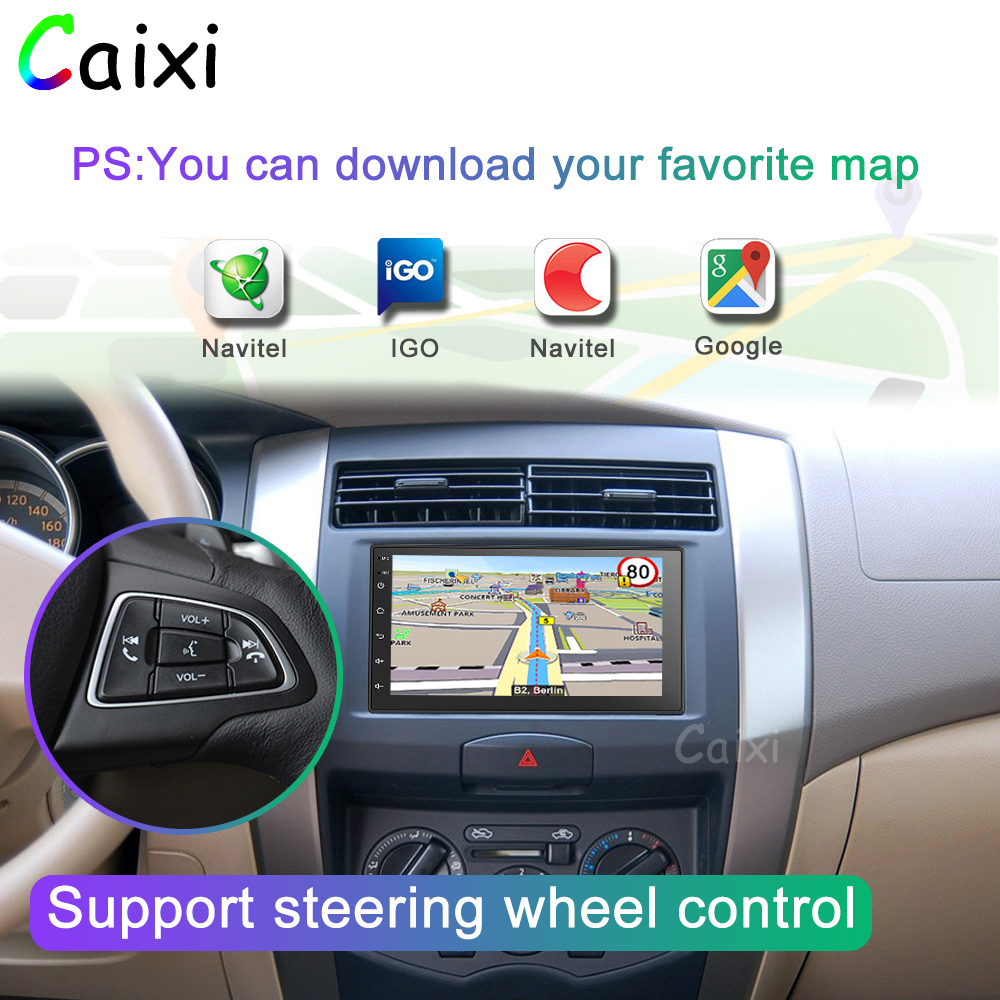 Image 3 - 2Din Car Multimedia Player RAM2G ROM32G  2 din android radio Car Radio Universal Car  Player  For Nissan Toyota Kia Suzuki-in Car Multimedia Player from Automobiles & Motorcycles