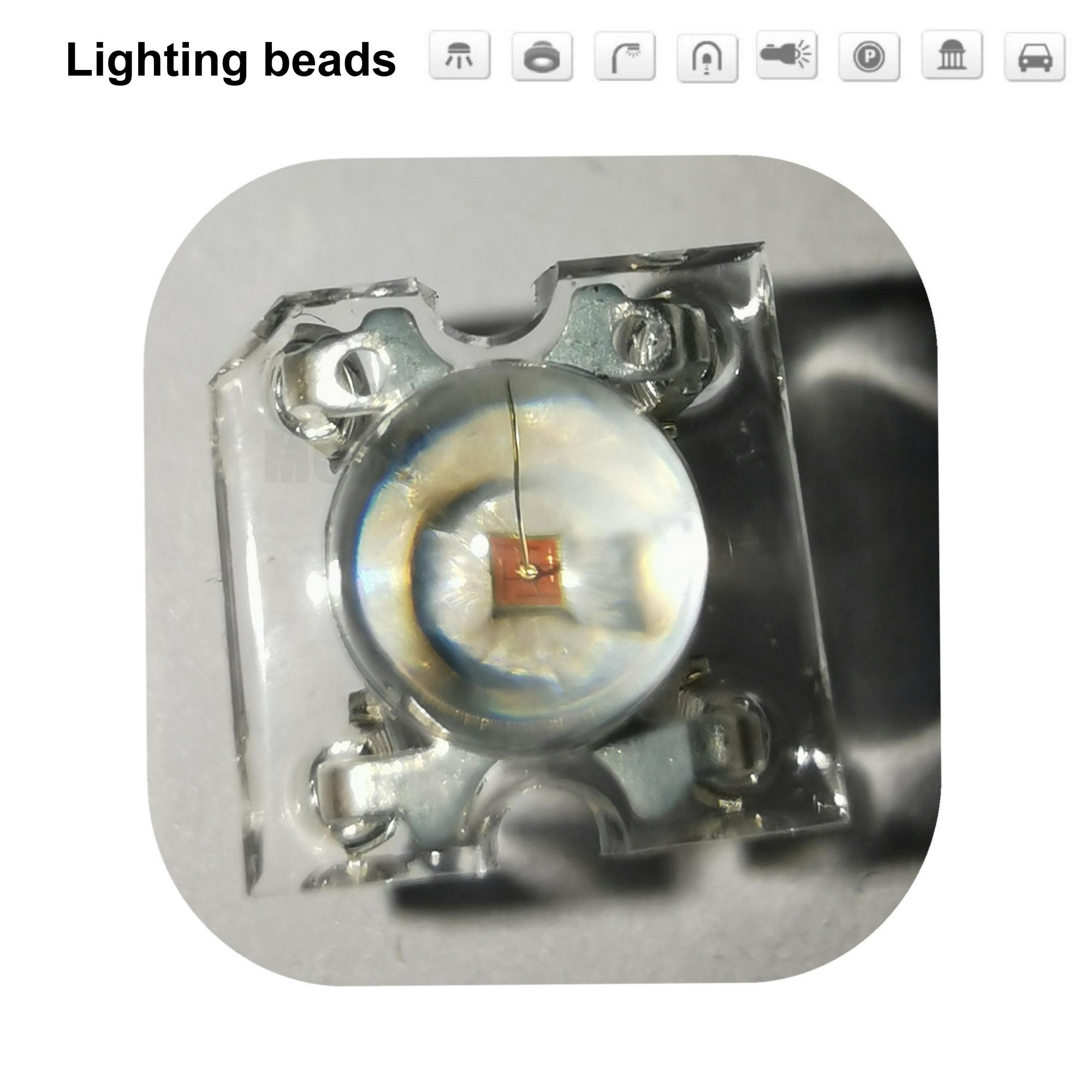 50pcs 5mm Piranha LED Diode Red Light Emitting Diodes Piranha LEDs 5 Mm Brightness Red Piranha F5 Lamp Bead Diodo Lampada