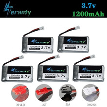 3.7V 1200mah Rechargeable Battery for KY601S for Syma X5c X5 X5SC X5SW M18 H5P RC Drone Quadcopter 903052 3.7V lipo battery 5pcs(China)