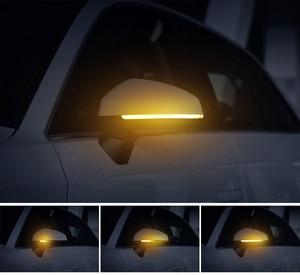 Image 5 - 2 قطعة إشارة الانعطاف الديناميكي LED الجانب الجناح مرآة الرؤية الخلفية المؤشر الوامض مكرر ضوء لأودي A3 S3 8V RS3 2013 2017 2018