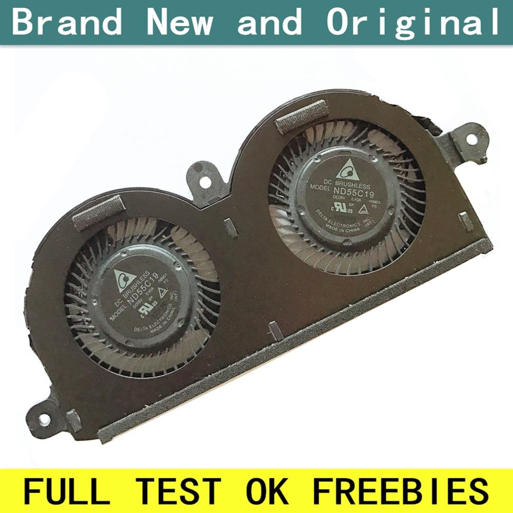Новый Кулер для ноутбука Dell XPS 13 9370, вентилятор охлаждения 0980WH 980WH CN-0980WH DC05V 0.40A XPS13 4PIN