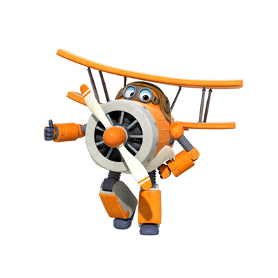 Большой! 15 см ABS Супер Крылья деформация самолет робот фигурки Супер крыло Трансформация игрушки для детей подарок Brinquedos - Цвет: No Box ALBERT