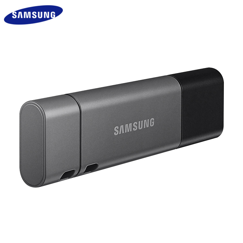 Samsung DUO Plus USB 3.1 Pendrive Metal USB Flash Drive 32GB 64GB Memory Stick High Speed 128GB 256GB USB Mini U Disk image