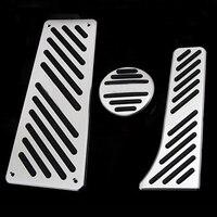 Acessório do carro acelerador gás freio pé resto pedal almofada para benz smart fortwo elf 2009 2014 pedais almofada não perfuração pedais Pedais     -