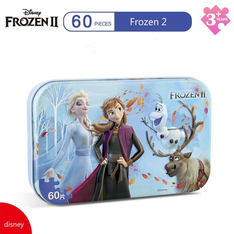 Disney 3d Puzzle 60 Pcs Frozen 2 / Snow White 60 Pcs Jigsaw Puzzle Children's Paper Puzzle Children's Educational Toys 60 Piece
