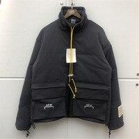 20SS Latest kanye west Hip hop ACW A COLD WALL Jacket Men Fashion Casual Winter Keep Warm Bomber Coat ZIP Big Pocket Jackets