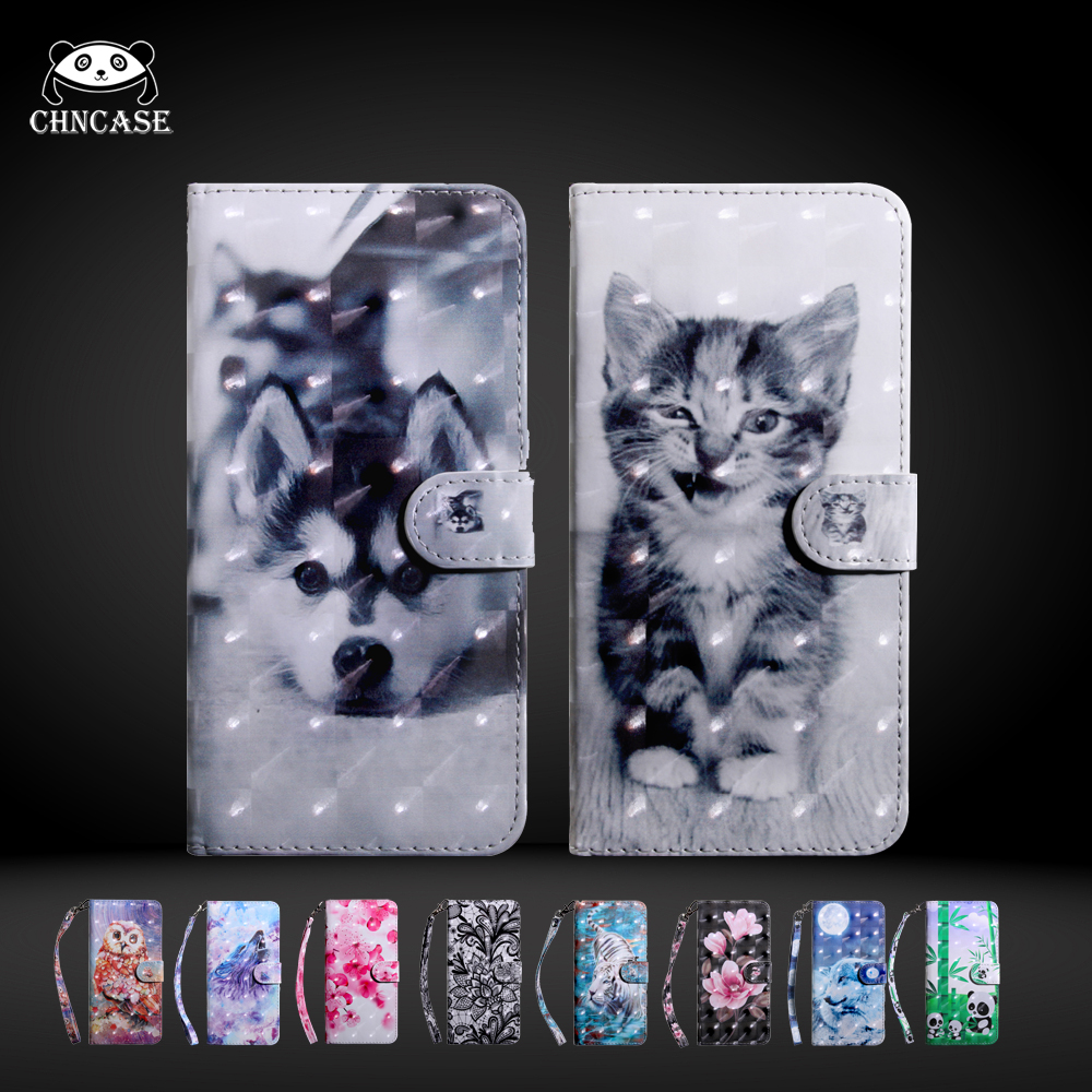 Pet For <font><b>Huawei</b></font> Honor7X <font><b>7S</b></font> 8A 8C 8X 9X Honor10 20 Pro Play <font><b>Case</b></font> Magnetic Leather <font><b>Flip</b></font> Wallet Stand Cover Mobile Phone Bag image