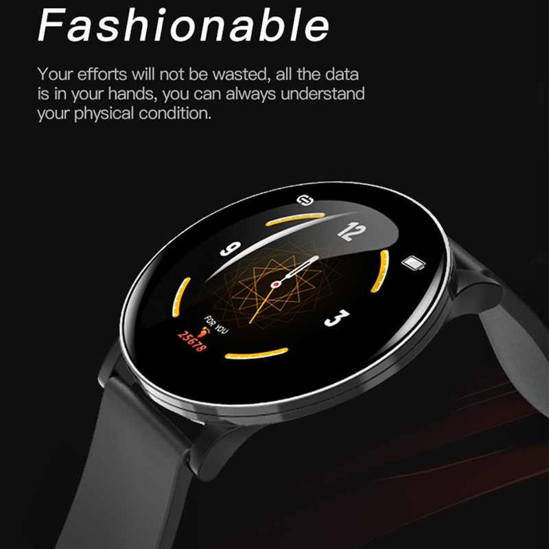 Smart Watch Men Waterproof Blood Pressure Pedometer Fitness Bracelet Heart Rate Monitor Smartwatch Women for IOS Android Phone
