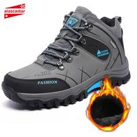 New Motorcycle Boots Waterproof Men Winter Boots Moto Boots Leather Motorcycle Shoes Motorbike Biker Riding Boots Ankle Shoes#