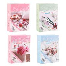 100 листов Фотографии Фотоальбом интерстициальный фотоальбом чехол для хранения Семейные Свадебные памятные подарки